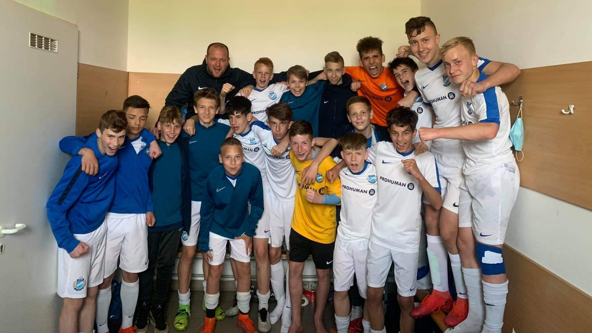 U15, U14: Pótolt bajnokin vertük a MOL Fehérvár FC-t