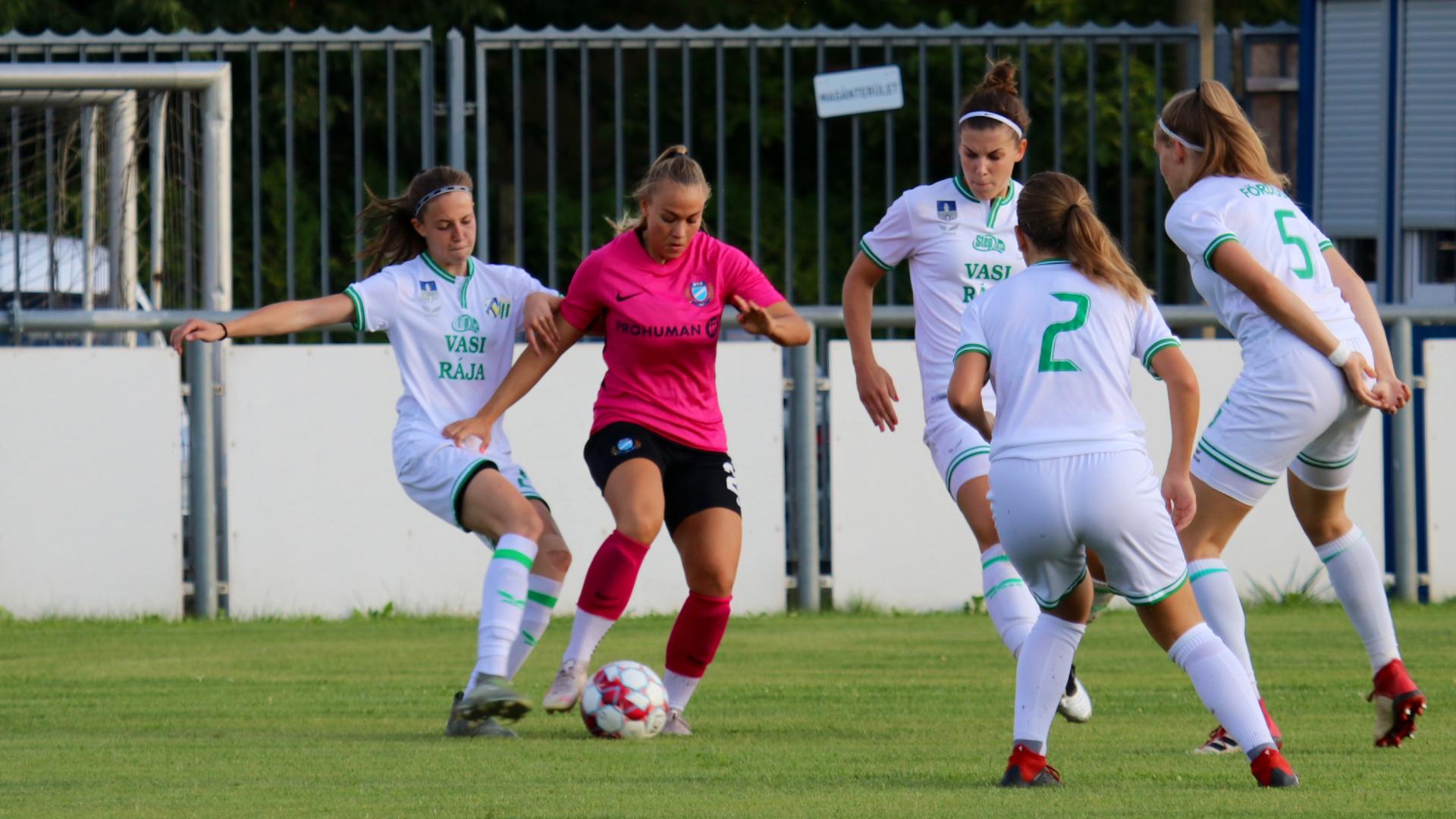 A Haladás-Viktória és az ETO FC Győr érkezik - Heti program