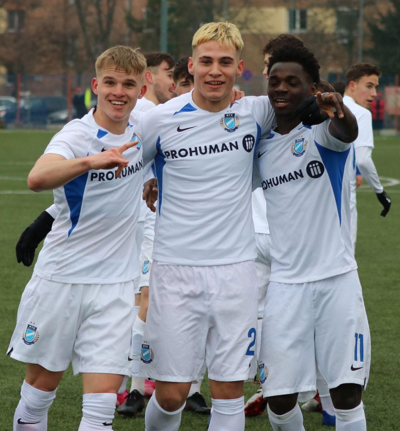 U19: Győzelem Győrben