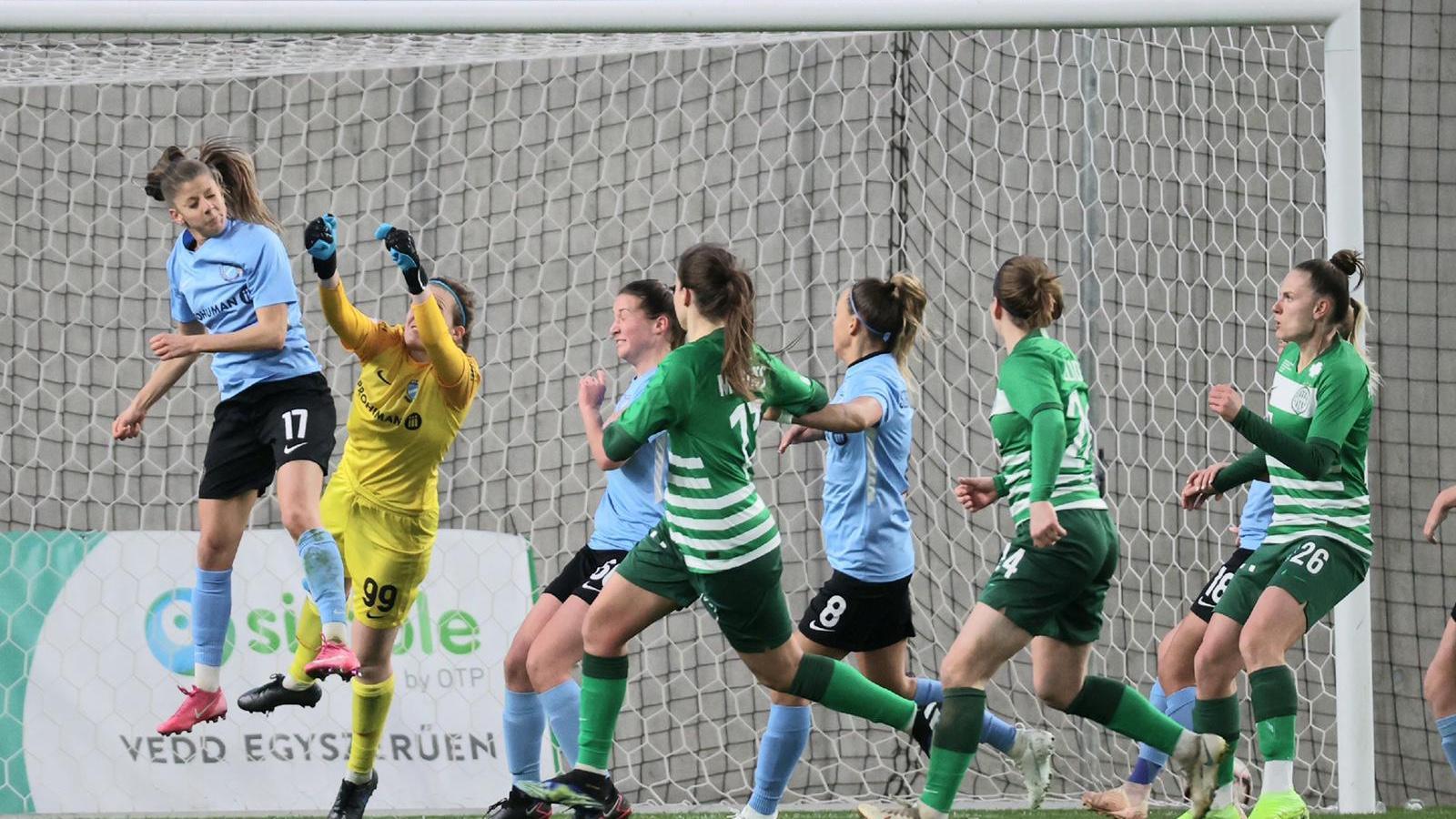Simple Női Liga: Emberhátrányban, 0-1-ről nyertünk a FTC-Telekom ellen
