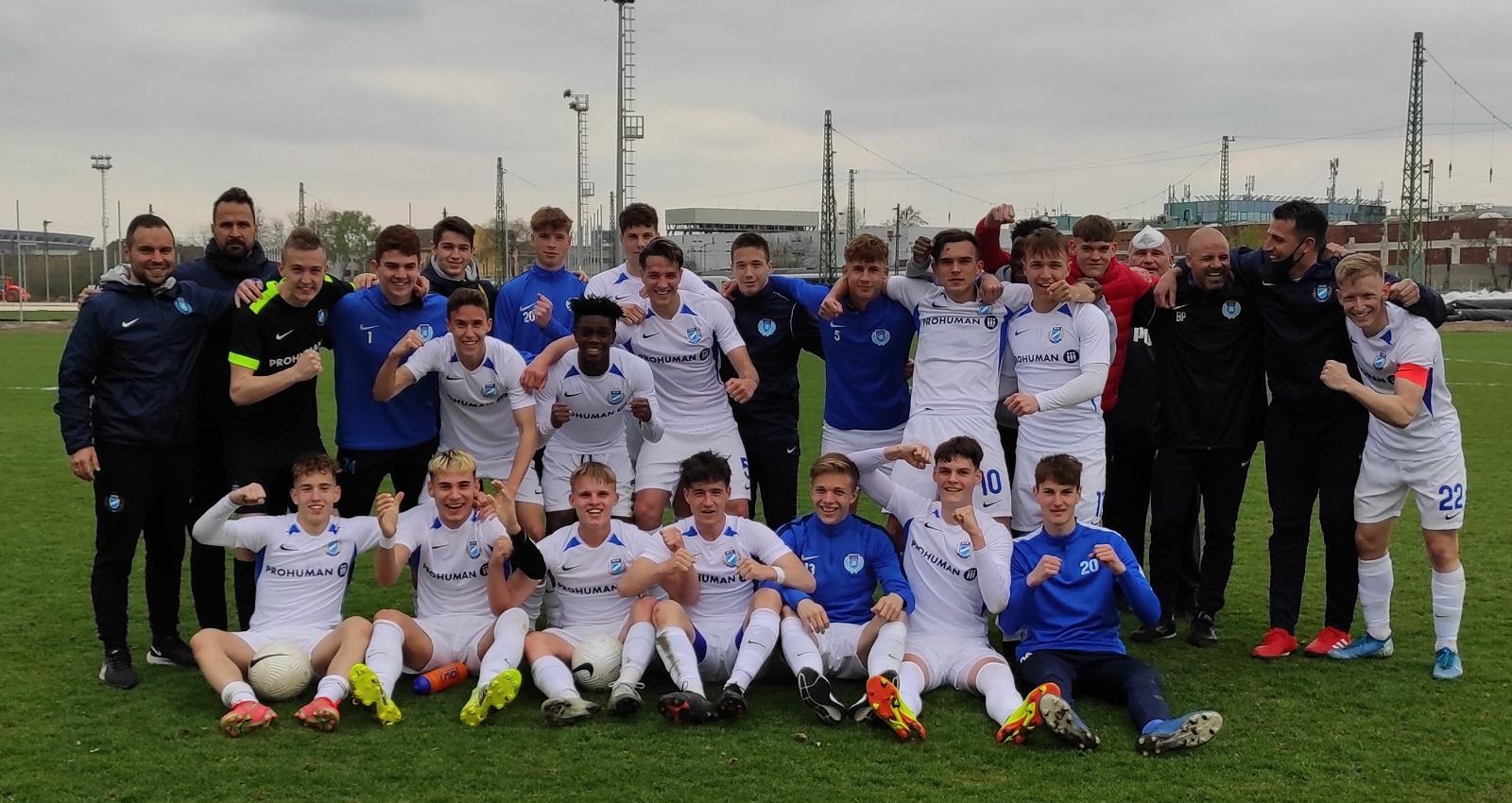 U19: Nagy munka volt ebben a győzelemben (GALÉRIA)